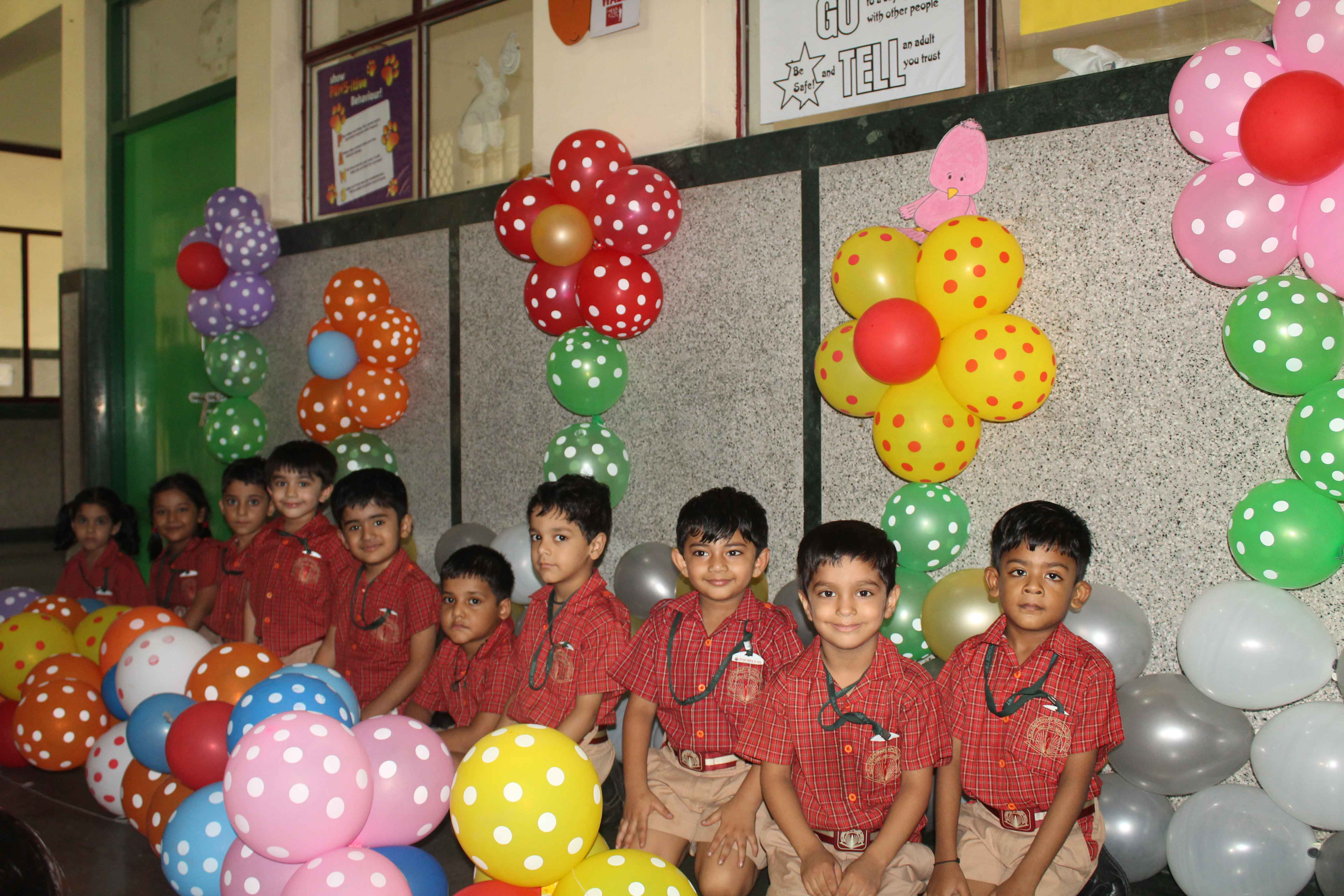 Balloon Fiesta for classes Nursery & Prep
