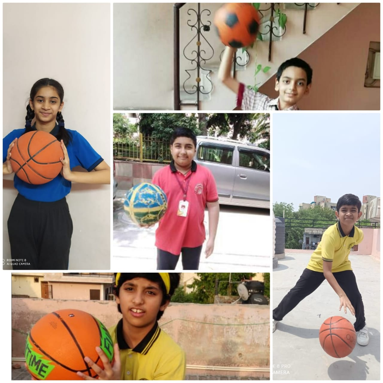 Basket Ball Activity for  Classes 6 -8