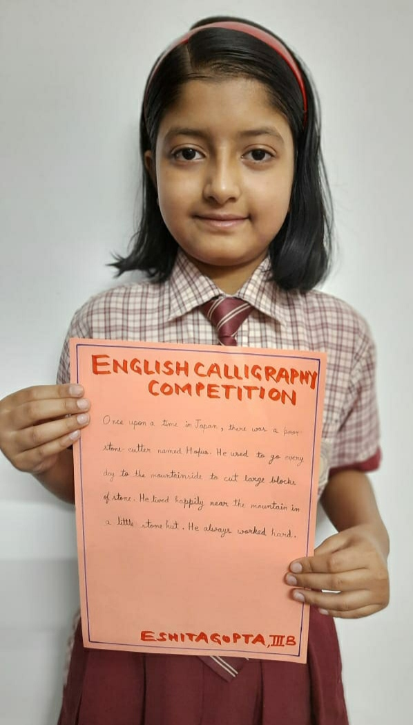 ENGLISH CALLIGRAPHY COMPETITION