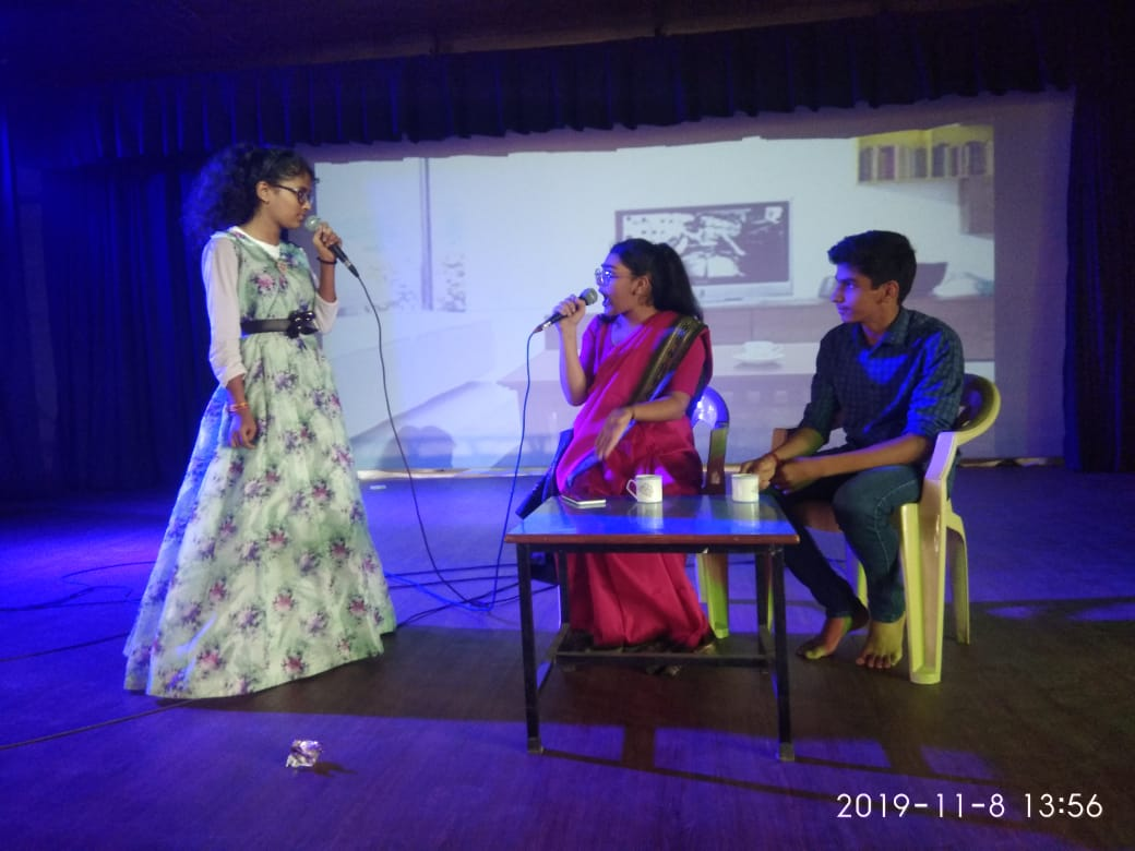 Inter Class Skit Competition (English) for classes VI to VIII